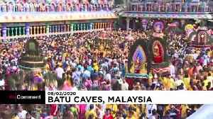 Thaipusam — a colourful Hindu festival in Malaysia [Video]