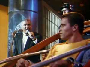 THE RUNNING MAN movie (1987) Arnold Schwarzenegger [Video]
