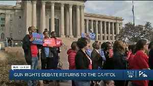 Gun rights debate returns to the capitol [Video]