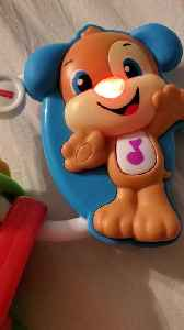 Children's Toy Seems to Say Concerning Phrase [Video]