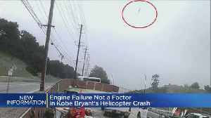 Engine Failure Not A Factor In Helicopter Crash That Killed Kobe, 8 Others [Video]