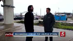 Nashville man awarded for giving homeless woman shirt off his back [Video]