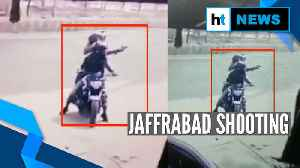 Watch: Bike-borne gunmen fire 4 rounds in Delhi's Jaffrabad [Video]