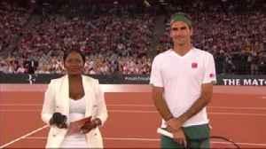 Kolisi gives Federer South Africa jersey [Video]