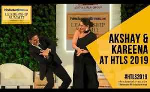 #HTLS2019: Akshay Kumar on interviewing PM Modi; Kareena on pay parity [Video]