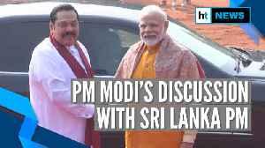 PM Modi, Mahinda Rajapaksa discuss terrorism, border security in joint address [Video]