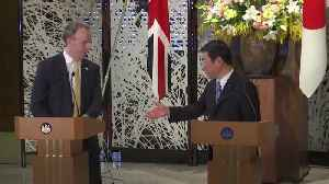 Brexit trade talks: Foreign Secretary Dominic Raab meets Japanese Foreign Minister [Video]
