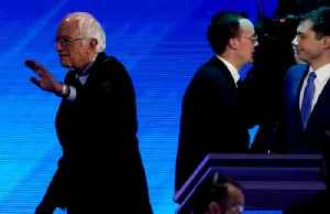 Victory claimed by all in the spin room at the Democratic debate
