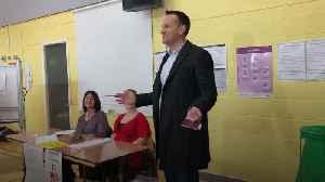 Irish General Election: Leaders vote in close-run poll [Video]