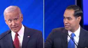 """Julian Castro to Joe Biden: """"Are you forgetting what you said 2 minutes ago?"""" [Video]"""