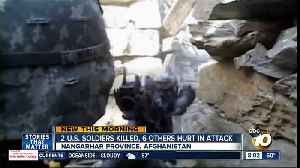 U.S. casualties reported after troops fired upon in Afghanistan, official says [Video]