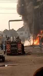 Fire Outbreak in Ibadan [Video]