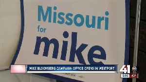 Mike Bloomberg campaign office opens in Westport [Video]