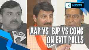 Exit polls predict AAP's comeback, BJP asks to wait till result day [Video]