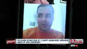 Wuhan evacuee speaks about his life in quarantine [Video]