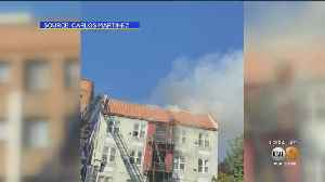 Fire Engulfs Koreatown Apartment Building, 12 Units Declared Unlivable [Video]