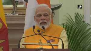 India, Sri Lanka have fought terrorism befittingly PM Modi [Video]