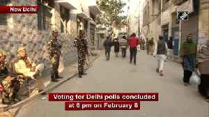 News video: Voting for Delhi polls concludes