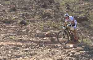 Colombia's Paez and Slovenia's Pintaric win tough desert mountain bike race [Video]