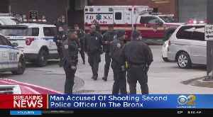 Gunman Shoots NYPD Officer Inside 41st Precinct, Believed To Be Same Suspect As From Saturday Night Attack [Video]