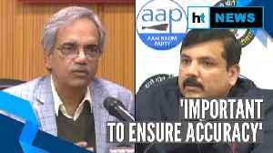 Delhi polls: EC announces final voter turnout data as AAP claims 'delay' [Video]