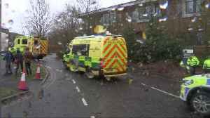 Britons taken to Milton Keynes for coronavirus quarantine [Video]
