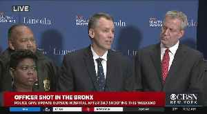Mayor, NYPD Commissioner On Sunday Morning's 'Assassination' Attempt In Bronx Precinct House [Video]