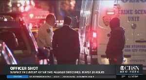 NYPD Ties Same Shooter To Bronx Precinct House Shooting On Sunday, Officer Shooting Ambush On Saturday [Video]