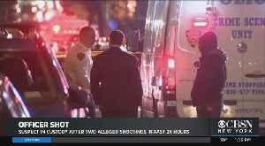 NYPD Ties Same Cop Shooter To Sunday's Bronx Precinct Shooting, Saturday's Street Ambush On Saturday [Video]
