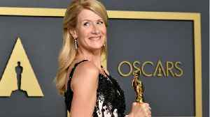 A Daughter of Hollywood Royalty, Laura Dern Snags First Oscar [Video]