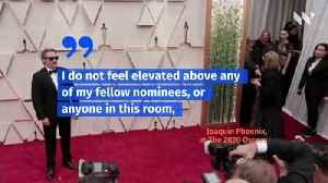 Joaquin Phoenix Wins Best Actor at 2020 Oscars [Video]