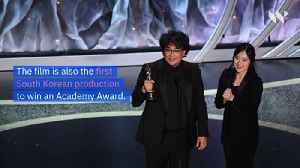 'Parasite' Wins Best Picture Oscar and Makes History [Video]