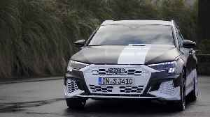 The new Audi A3 Sportback Covered Design [Video]