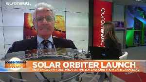 Solar Orbiter launches from Cape Canaveral for journey to the sun [Video]