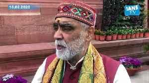 Ashwini Chaubey reacts on Salman Khurshid alleged chants of azaadi at Shaheen Bagh [Video]
