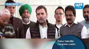 Ideology of BJP-RSS against 'reservations': Rahul Gandhi [Video]