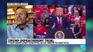 Dick Howard on Trump impeachment trial. [Video]