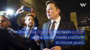 Elon Musk Tweets #DeleteFacebook [Video]