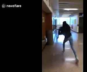 Wrong way! Girl slams herself against the wall wearing VR goggles [Video]
