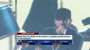 Eminem performs 'Lose Yourself' at Oscars 17 years after winning Oscar for song [Video]
