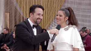 Lin-Manuel Miranda Oscars 2020 Red Carpet Interview [Video]
