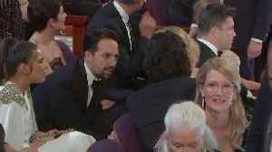 Lin-Manuel Miranda and Laura Dern on the Oscars 2020 Audience Cam [Video]