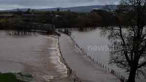 Drone footage shows severe flooding across Cumbria during Storm Ciara [Video]