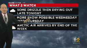 Snow Gives Way To Rain; Arctic Air Later This Week [Video]