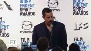 Adam Sandler Talks Life Since 'SNL' At Spirit Awards [Video]