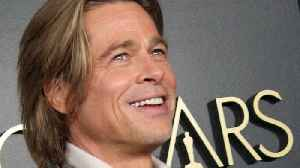 News video: Brad Pitt On Oscar Win: I'm 'Gobsmacked'