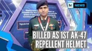 Watch: Indian Army Major develops bulletproof helmet to stop AK-47 fire [Video]