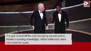 Steve Martin and Chris Rock joke Oscars went hostless because of Twitter [Video]