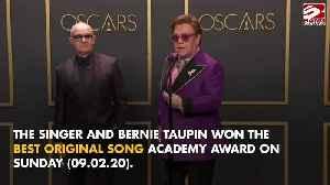 Sir Elton John wins Best Original Song Oscar [Video]