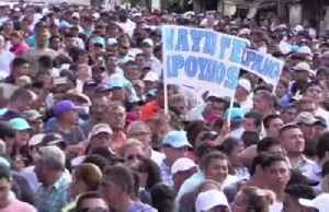 Salvadoran president rallies for loan to boost security [Video]